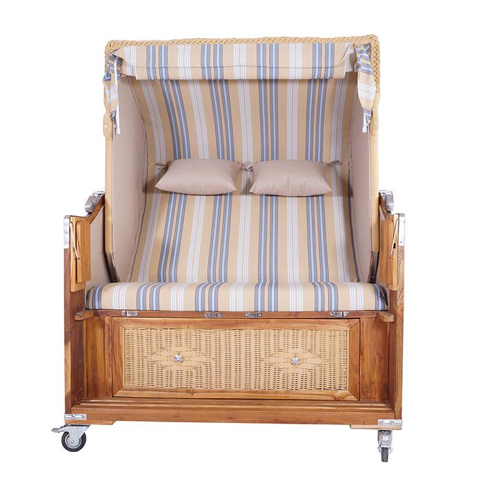 strandkorb kampen natur 2 5 sitzer pe polyrattan. Black Bedroom Furniture Sets. Home Design Ideas