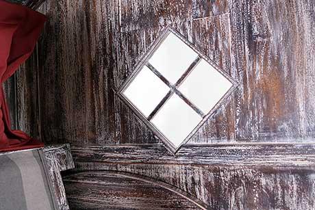 Almstrandkorb Fenster