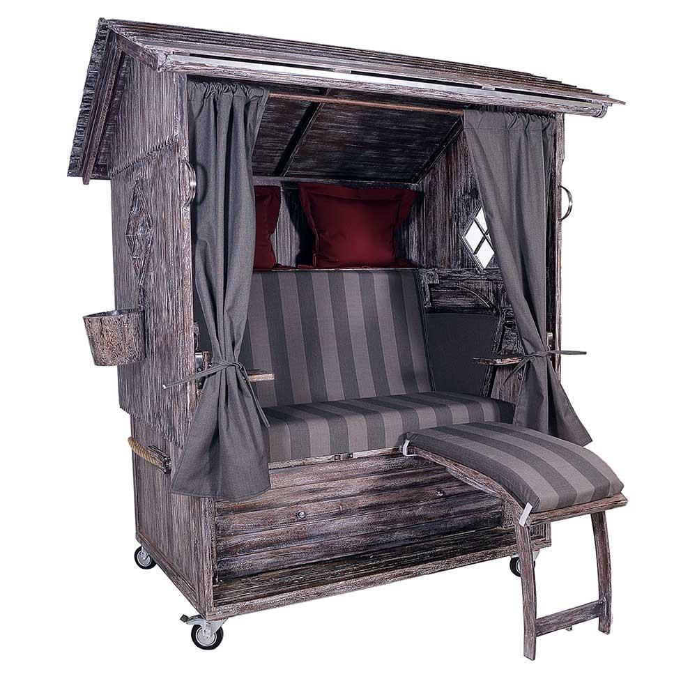 almstrandkorb mahagoni white wash strandkorb alpen. Black Bedroom Furniture Sets. Home Design Ideas