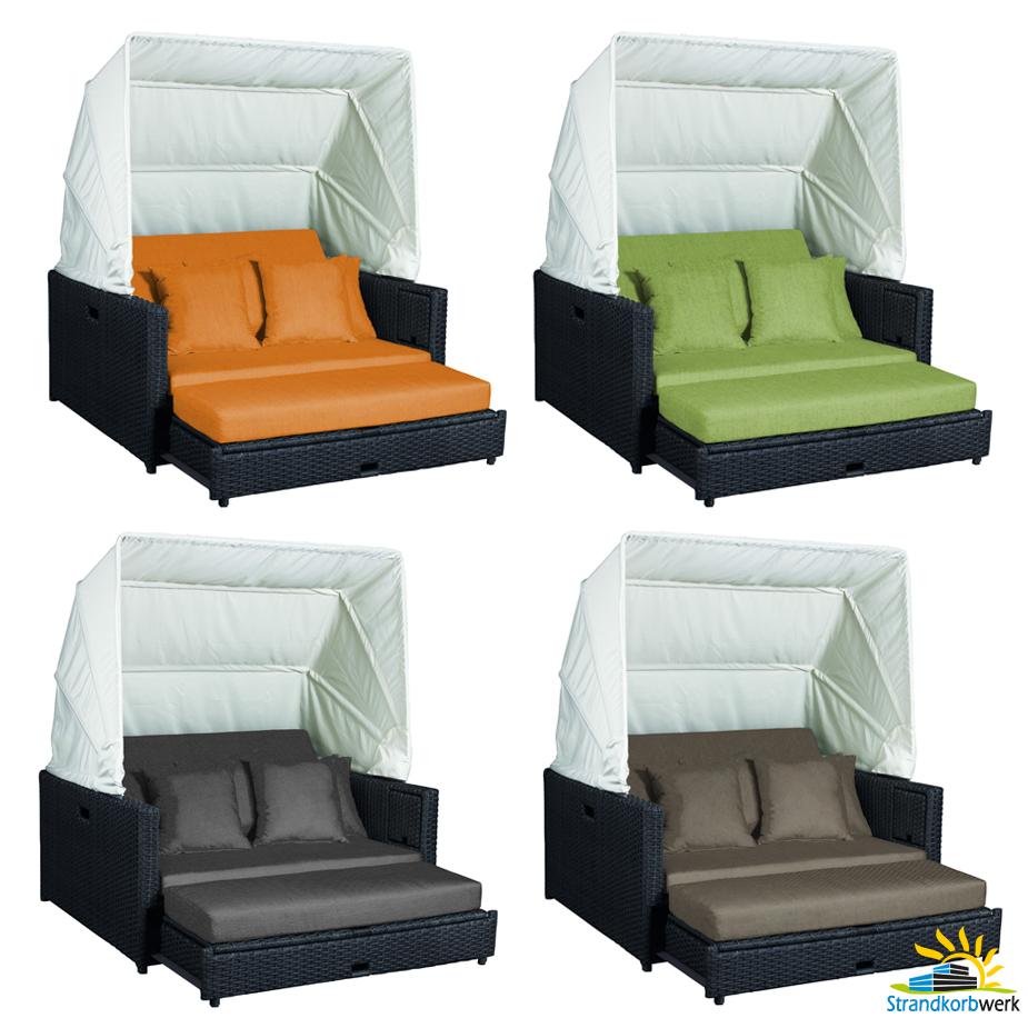 liegeinsel beach lounge chai duo polsterfarben w hlbar garten liege sonneninsel. Black Bedroom Furniture Sets. Home Design Ideas