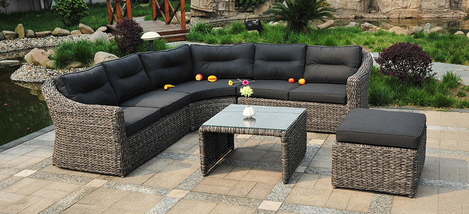 polyrattan gartenm bel husum sitzgruppe poly rattan lounge. Black Bedroom Furniture Sets. Home Design Ideas