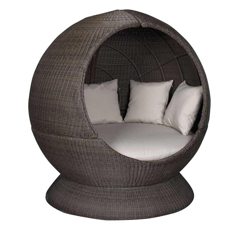 """Sonneninsel """"Nest Lounge"""" einseitig offen"""