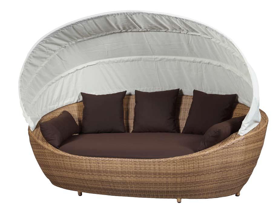 paradiso lounge liege sonneninsel liegeinsel domus ventures garten polyrattan mb ebay. Black Bedroom Furniture Sets. Home Design Ideas