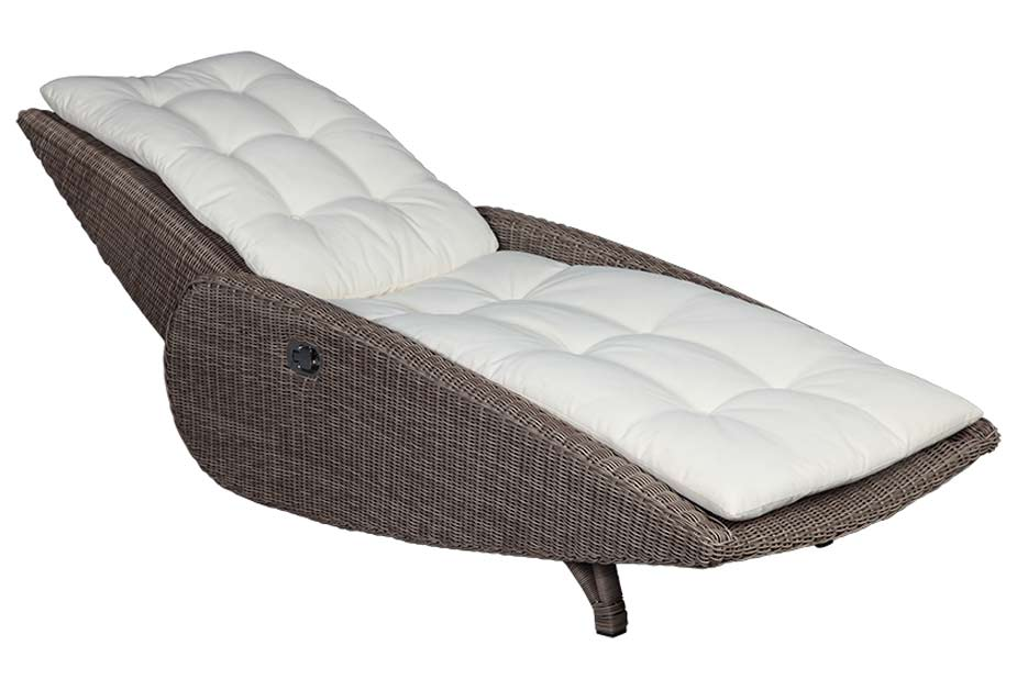 spa sunlounger cubu taupe von domus ventures. Black Bedroom Furniture Sets. Home Design Ideas
