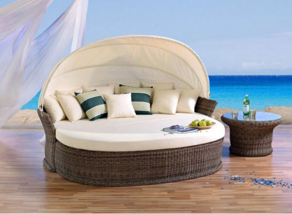 sonneninsel venus lounge cubu cream garten liege domus ventures polyrattan insel ebay. Black Bedroom Furniture Sets. Home Design Ideas