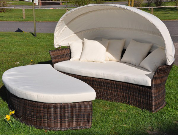sonneninsel venus lounge cubu croko garten liege domus ventures polyrattan insel ebay. Black Bedroom Furniture Sets. Home Design Ideas