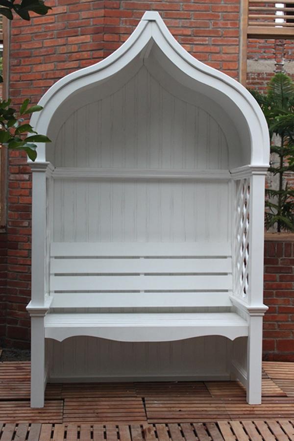 laubenbank rosenbank pavillon gartenbank bank teehaus. Black Bedroom Furniture Sets. Home Design Ideas