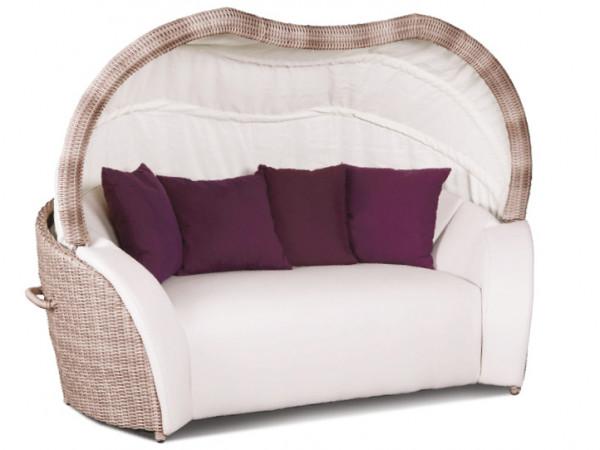 Luxor Lounge Small in Cubu Cream (Kissen nicht enthalten)