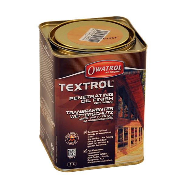 Owatrol TEXTROL transparentes Teakholz Öl