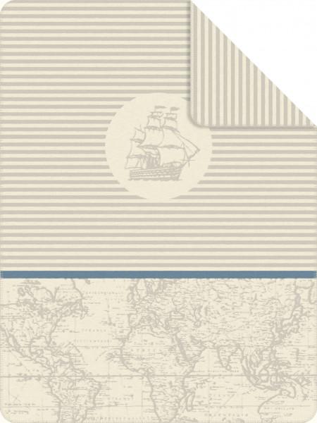Ibena Strandkorb Kuscheldecke 3903-800