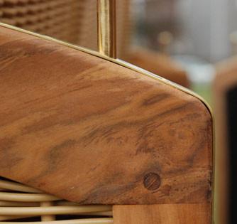 Teak-Holz komplett geölt