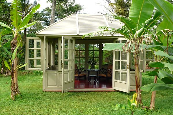 "Das Gartenhaus / Gazebo ""Fiete House"", Mahagoni"