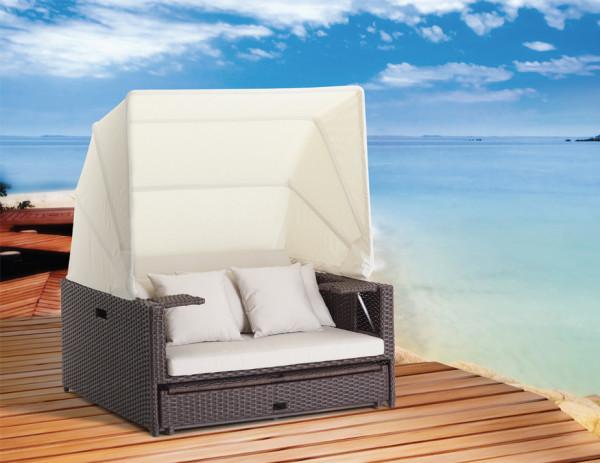 Beach Lounge Mocha Duo Weaving