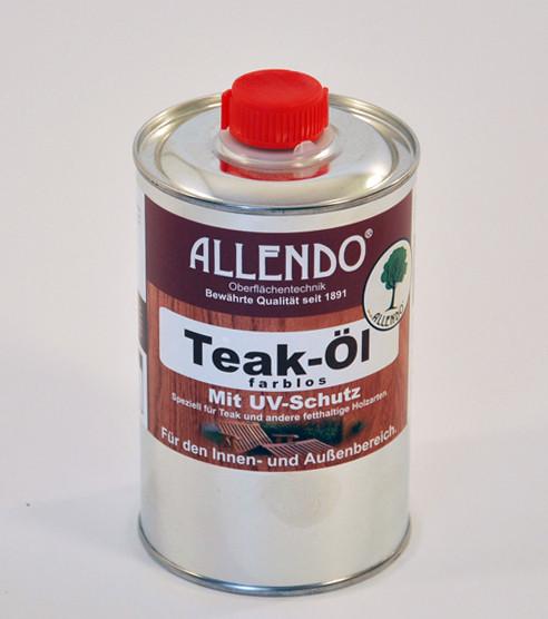 Allendo Teak-Öl, farblos, 500ml