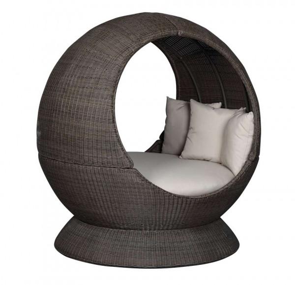 Sonneninsel Nest Lounge beidseitig offen Halbprofil