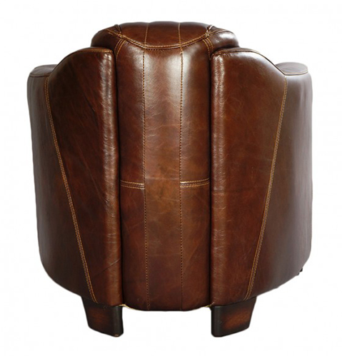 clubsessel rocket delvin vc sessel leder echtleder vintage design designsessel ebay. Black Bedroom Furniture Sets. Home Design Ideas