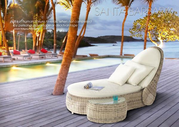 santa barbara liege sonneninsel domus ventures lounge garten polyrattan cubu cre. Black Bedroom Furniture Sets. Home Design Ideas