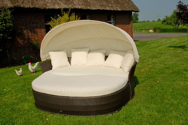 venus lounge sonneninsel liegeinsel garten polyrattan liege domus ventures coffe ebay. Black Bedroom Furniture Sets. Home Design Ideas